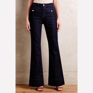 Pilcro Superscript Flare High Rise Jeans
